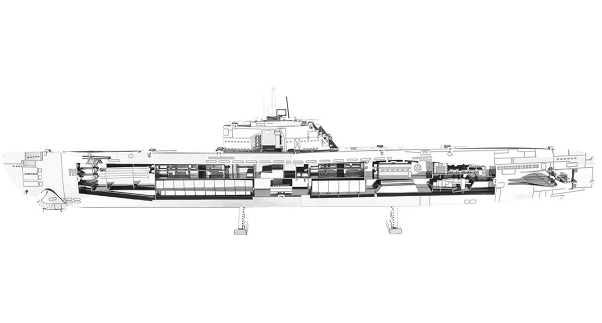 Metal Earth German U-Boat Type XXI
