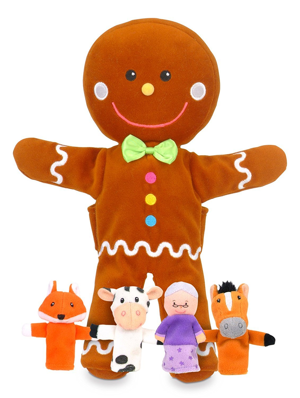 Babalu Hand & Finger Gingerbread Puppet Set