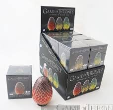 4D Cityscapes 3D Game of Thrones Drogon Eggs Puzzle