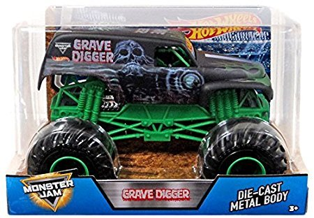 Hot Wheels Monster Jam 1:24 Diecast MOnster Trucks