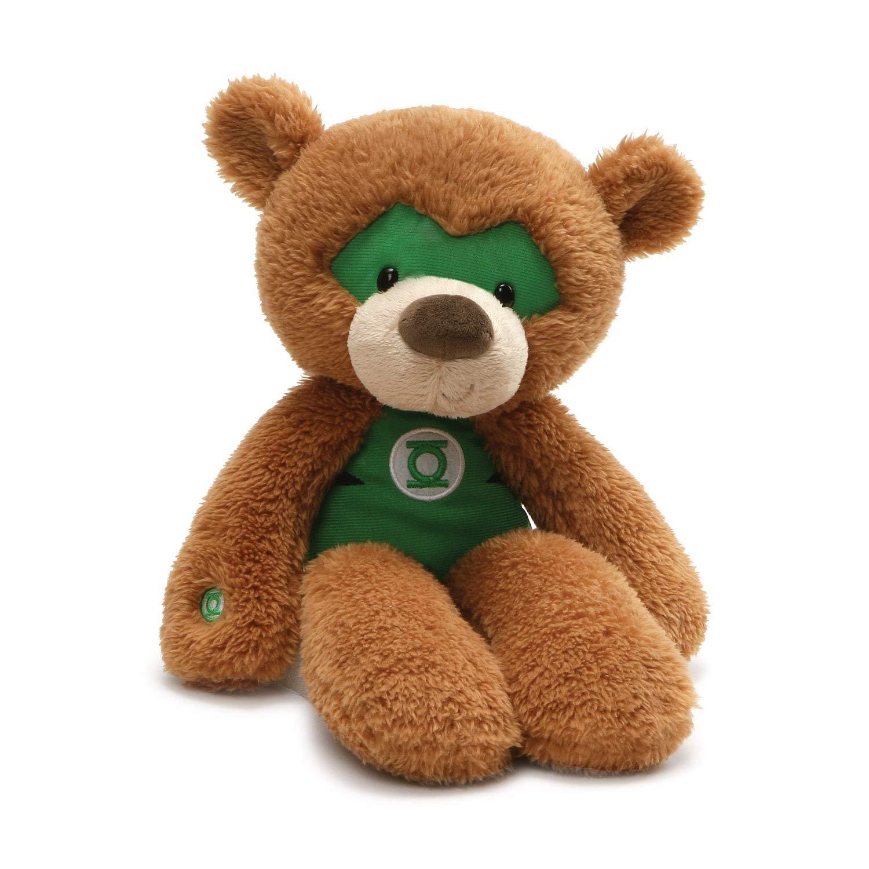 DC Comics Fuzzy Green Lantern Plush
