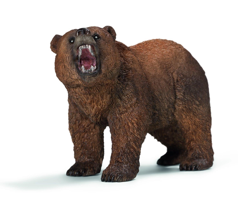 Schleich Grizzly Bear Toy Figurine
