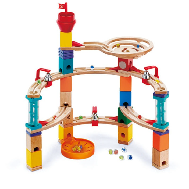 Hape  Quadrilla Marble Run Construction Castle Escape