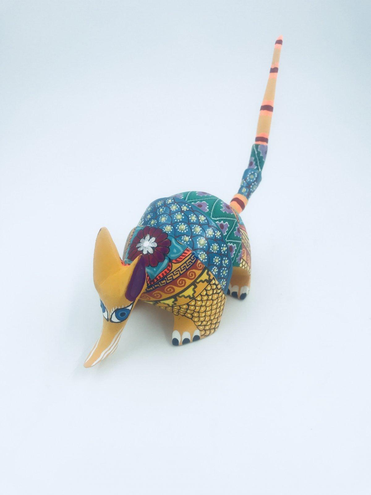Oaxacan Animal- Med Armadillo Matiaz