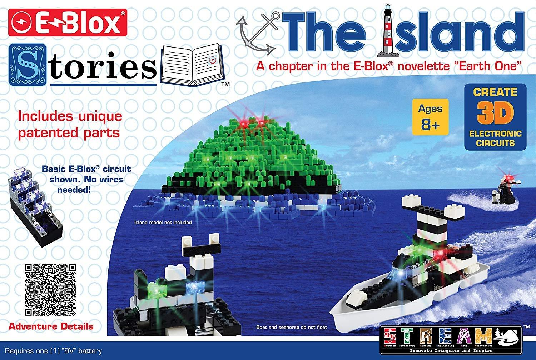 E-Blox Story Blox Steam 8 Model Kit