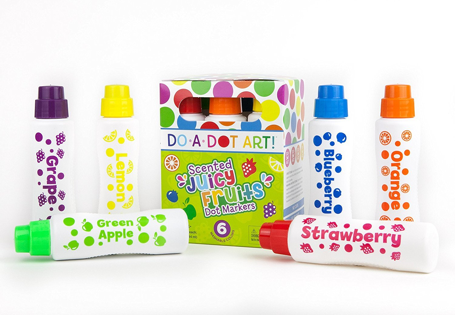 Do a Dot Juicy Fruits 6 Scented Markers