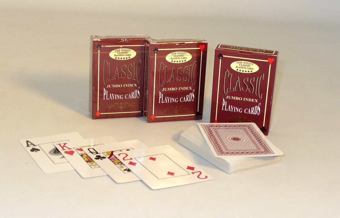 Classic Jumbo Index Playing Cards