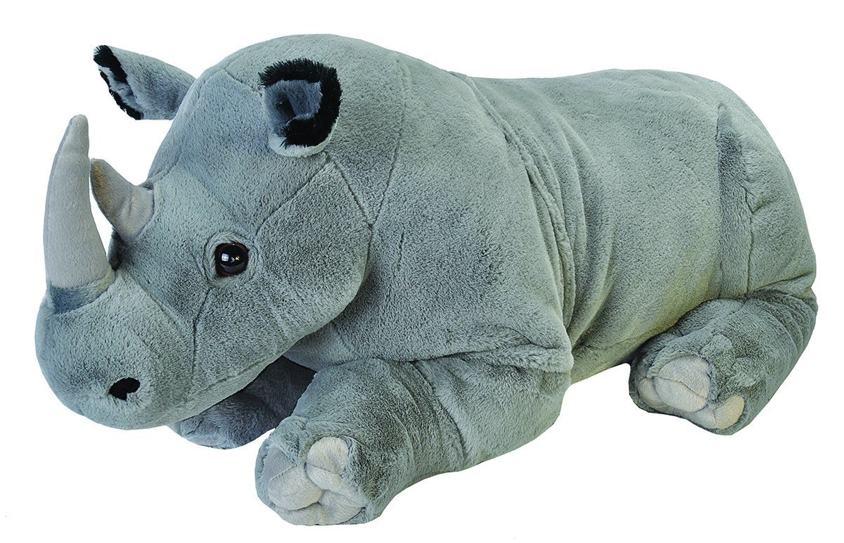 Cuddlekins Jumbo Rhino Plush Toy 30