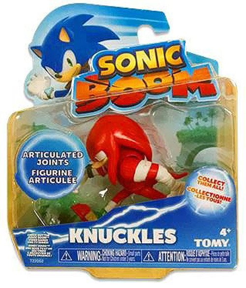 Sonic Boom Knuckles Running 3 Figure
