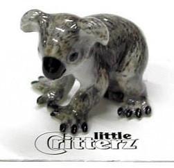Little Critterz  Sam Koala Bear Joey Figurine