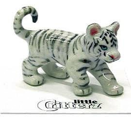 Little Critterz Asia White Tiger Cub