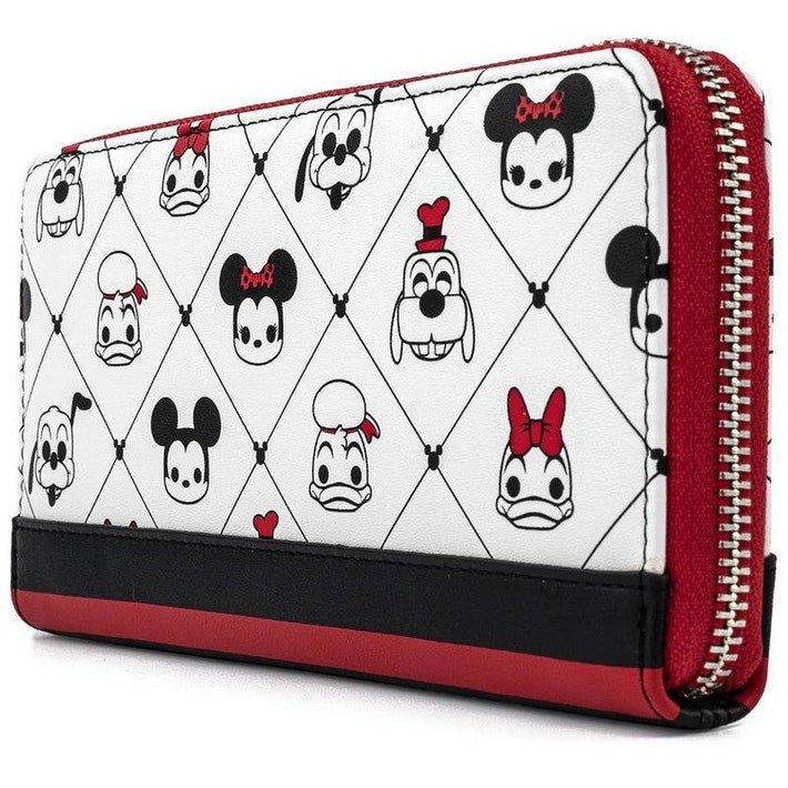 Loungefly Disney Sensational 6 Zip Around Wallet