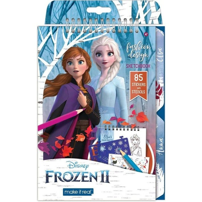 Disney Frozen 2 Fashion Design Sketchbook