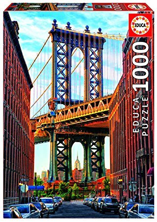 Educa 1000pc Manhatten Bridge New York Puzzle