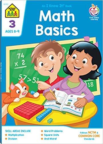School Zone Math Basics 3