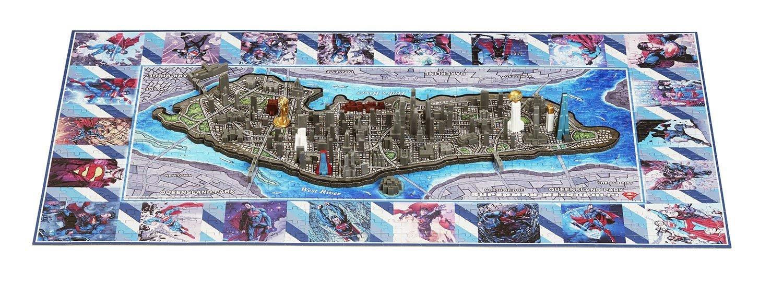 4D Cityscapes Mini Superman Metropolis 833pc Puzzle