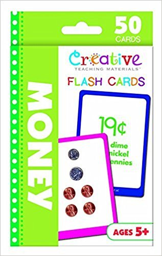 Creative Teaching Supplies Money Flashcards