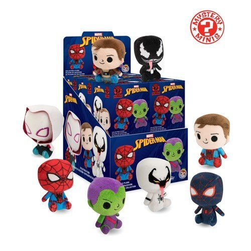 Funko Mystery Minis Spiderman Plushies