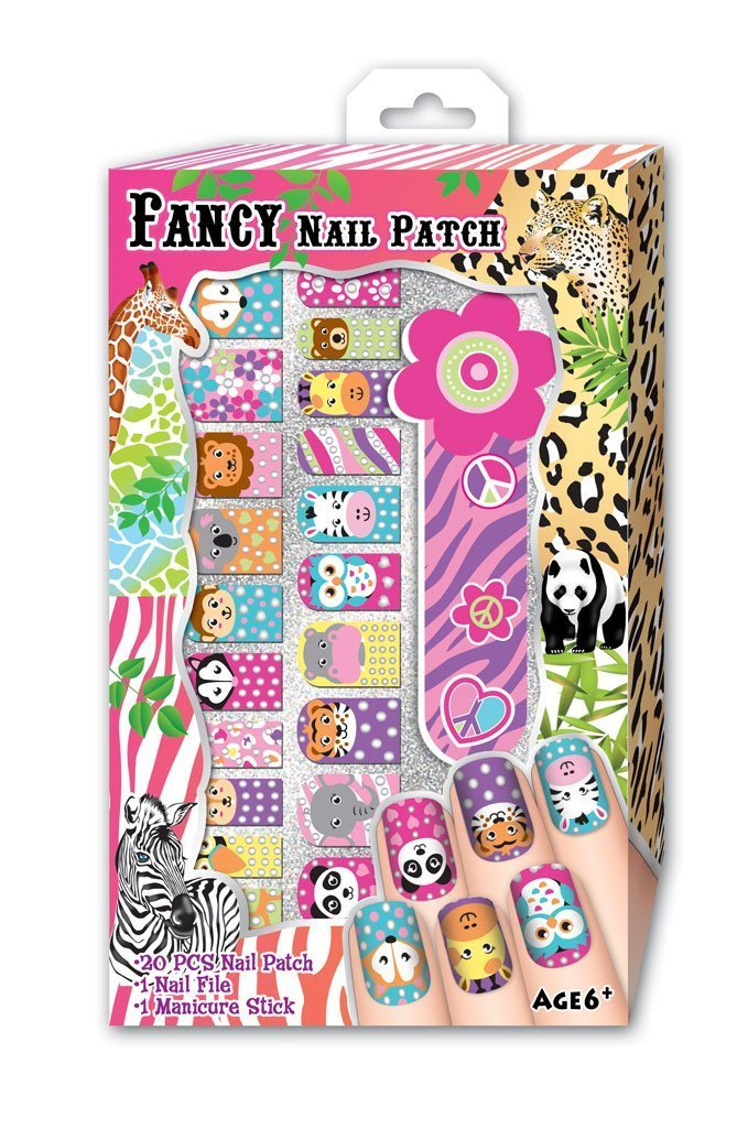 Hot Focus Magic Safari Fancy Nail Patches