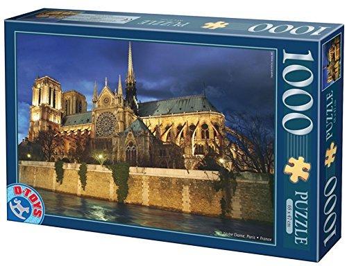 DToys 1000 pc Notre Dame Puzzle