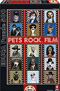 Educa 500 pc Pets Rock Puzzle