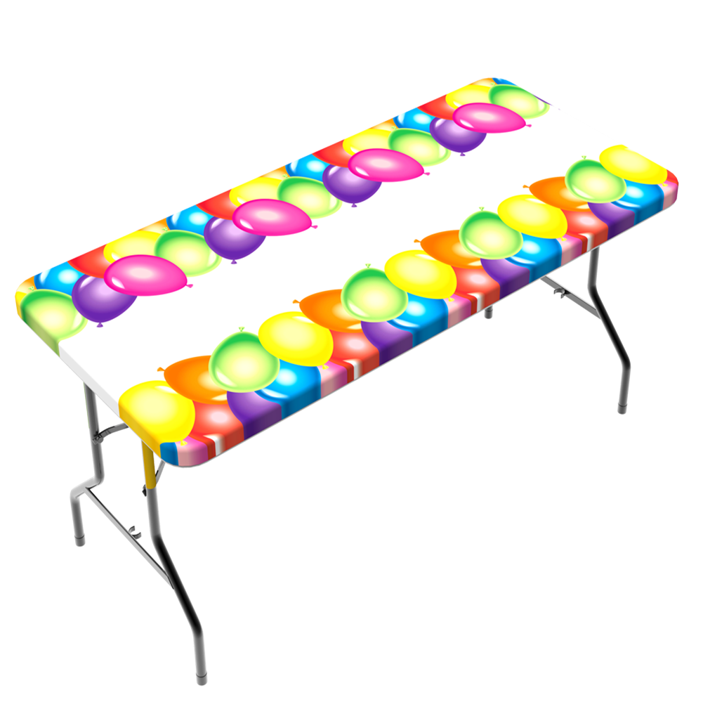 TableClothPlus Fitted Vinyl Table Cover