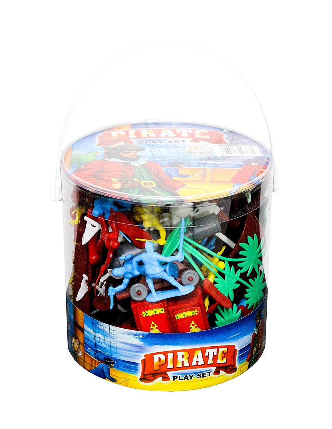 Bucket of Pirate Play Set