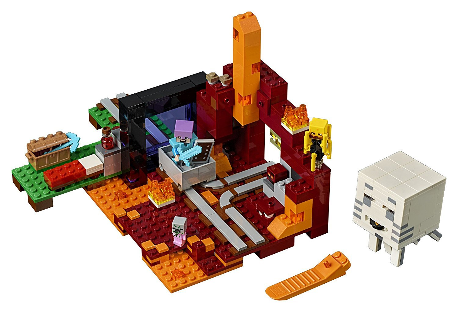 LEGO Minecraft the Nether Portal 21143 Building Kit (470 Piece)