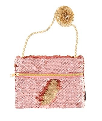 Fashion Angels Rose/Gold Sequin Purse