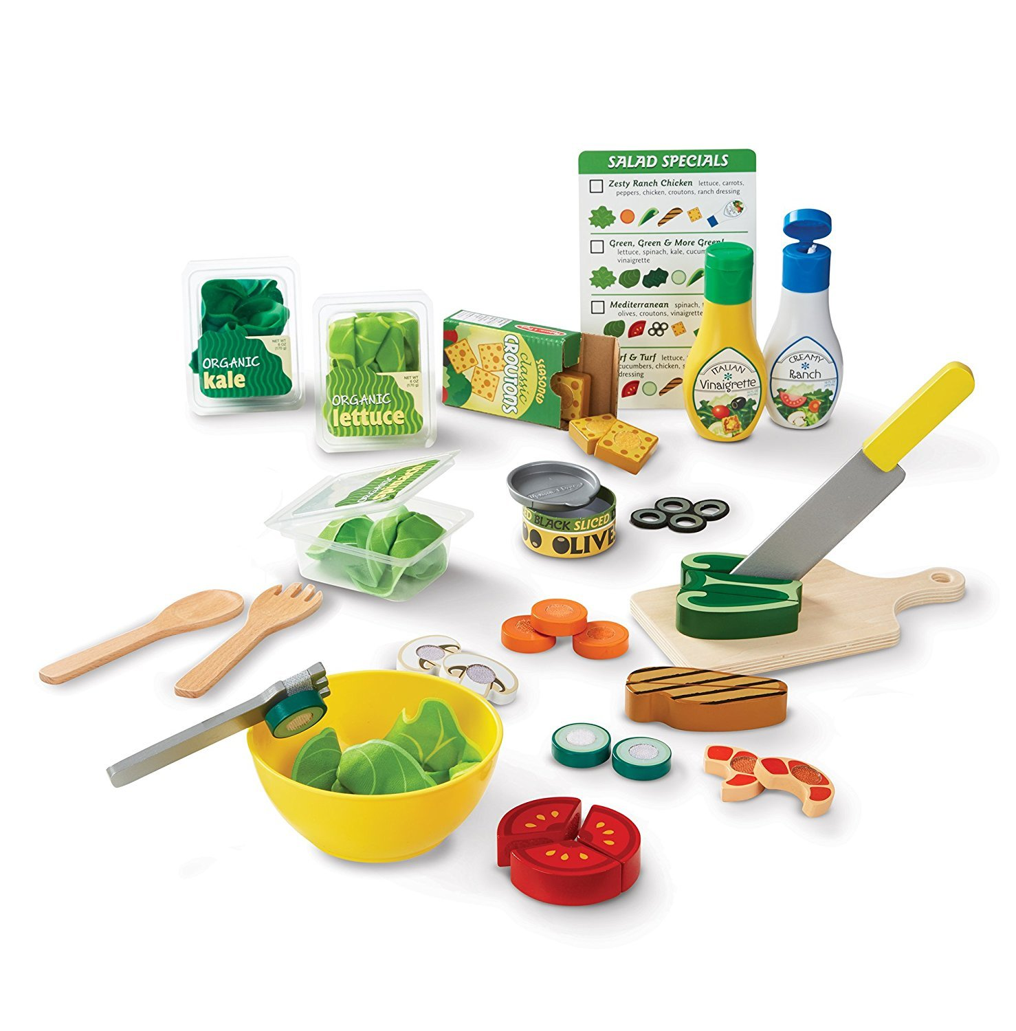 Melissa & Doug Salad Set