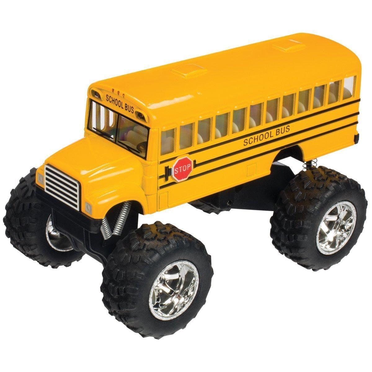 Monster Wheels School Bus