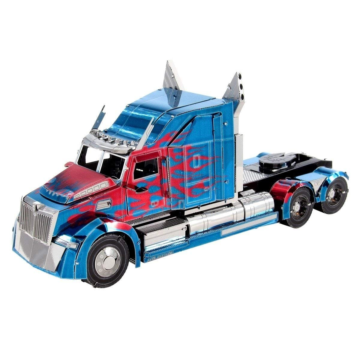 Metal Earth ICONX: Transformers Optimus Prime Western Star 5700 Truck