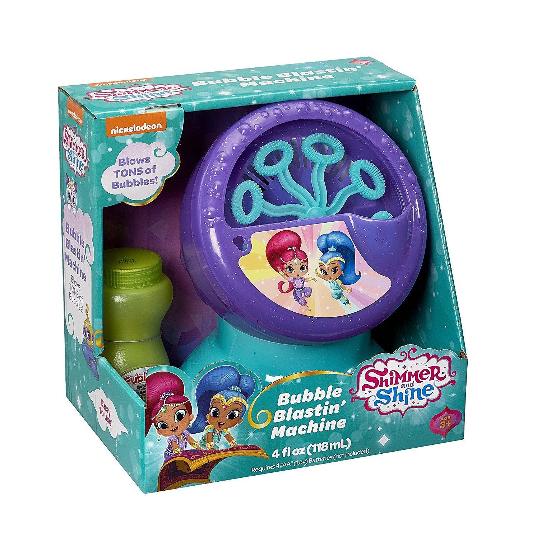 Little Kids Bubble Blastin Machine Shimmer & Shine