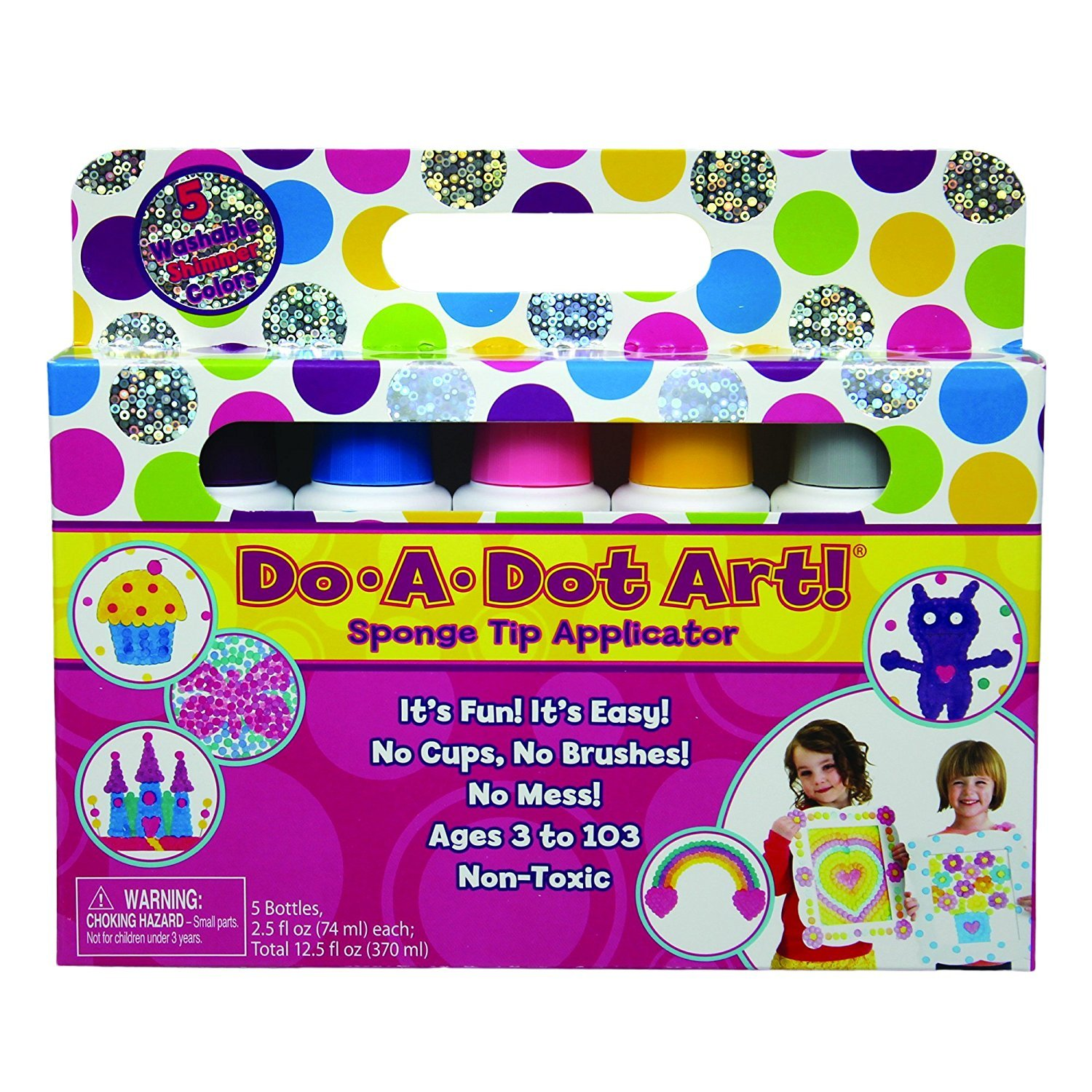 Do a Dot Washable Shimmer Colors- 5 Pack