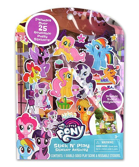 My Little Pony Stick n' Play Sticker Activity 25 count