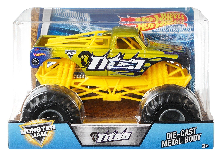 Hot Wheels Monster  1:24 Diecast Monster Trucks