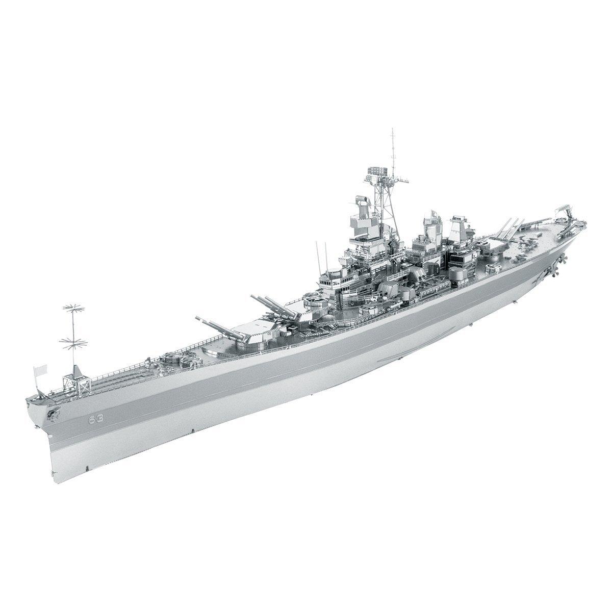 Metal Earth ICONX USS Missouri (BB-63)