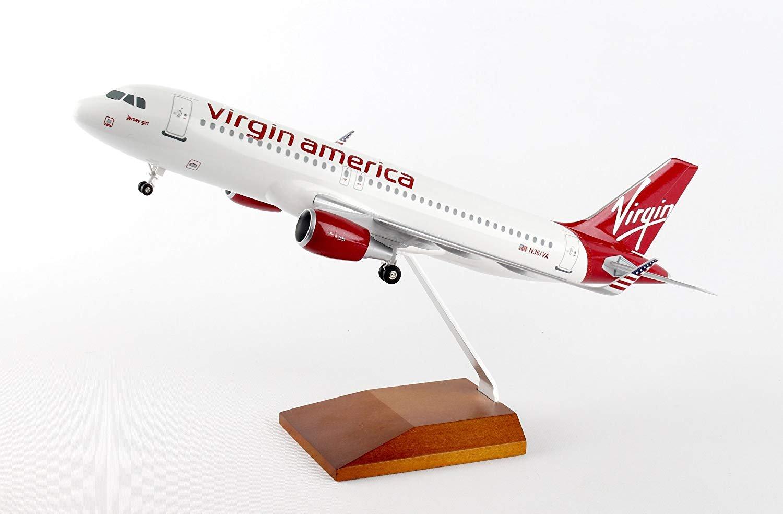 Daron Worldwide SkyMarks Virgin America Airbus A320 1/100