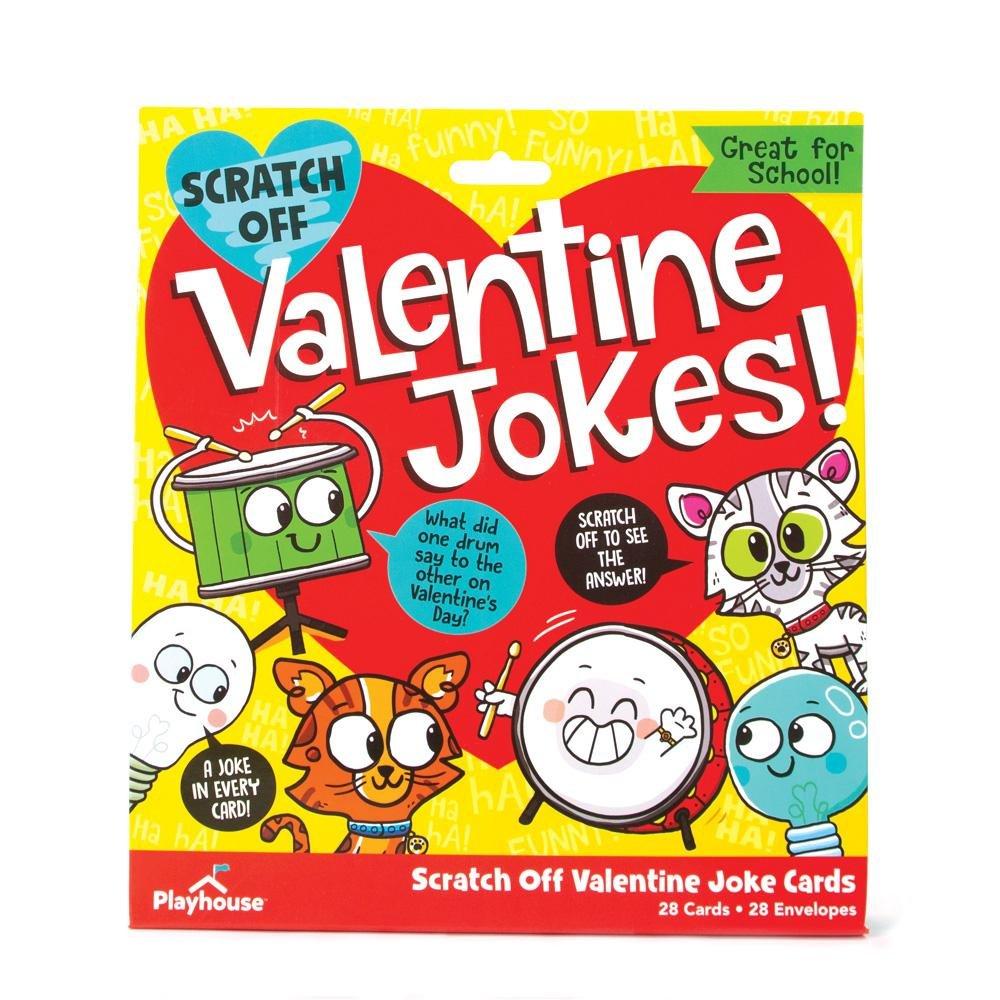 Valentine's Day Scratch Off Joke Cards
