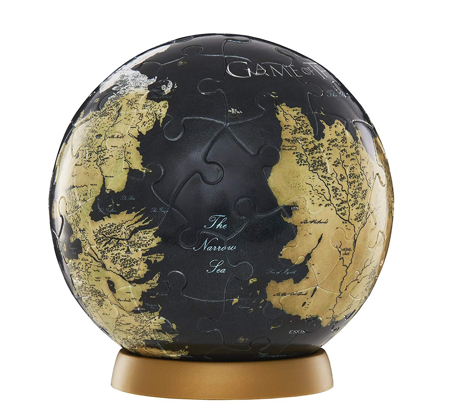4D Cityscapes 3D Westeros and Essos Globe Puzzle
