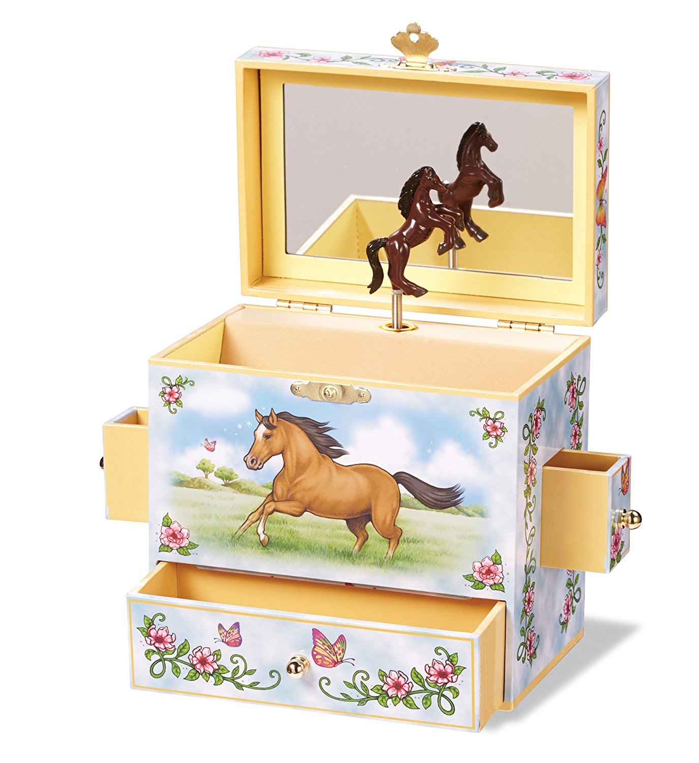 Enchantmints Wild and Free Musical Jewelry Box