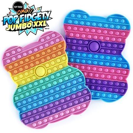 Top Trenz OMG!!! Pop Fidgety Jumbo XXL Gummi Bear