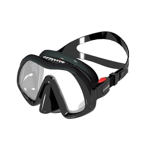 Atomic Venom Frameless Mask Black