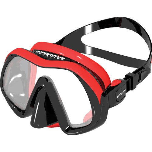 Atomic Venom Frameless Mask Red
