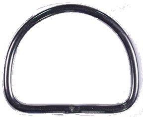 D-Ring 2 Inch S/S (3/16)