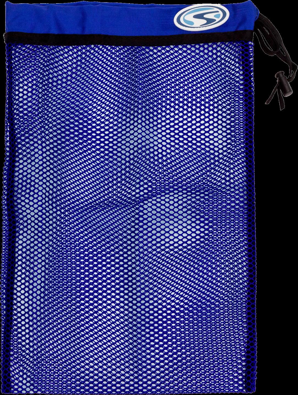 Stalhsac Flat Mesh Bag Small Blue