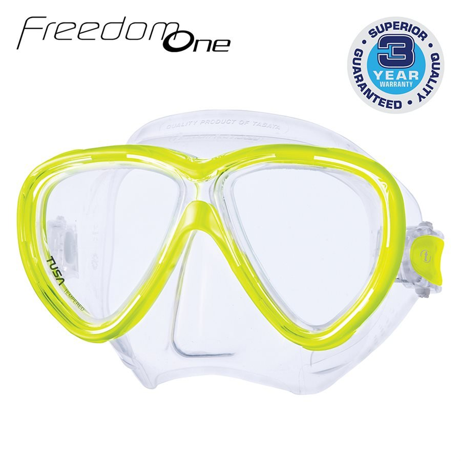 Tusa Freedom One Scuba Mask