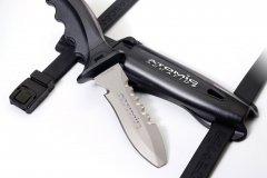Atomic Titanium Knife Blunt Tip