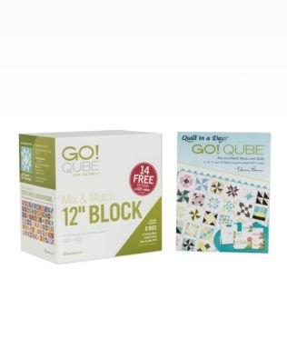Accuquilt GO! Qube Mix & Match  12 block 55778