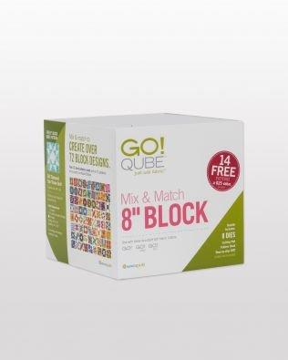 Accuquilt GO! Qube Mix N Match 8 Block 55776